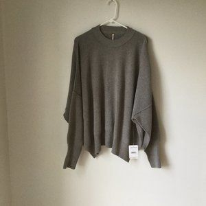 Free People Easy Street Tunic Color Heather Gray S